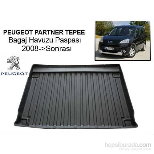 Peugeot Partner Tepee Combi Bagaj Havuzu 2008 Sonrası