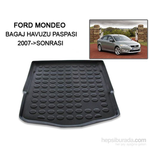 Ford Mondeo Bagaj Havuzu Paspası 2008 Sornası