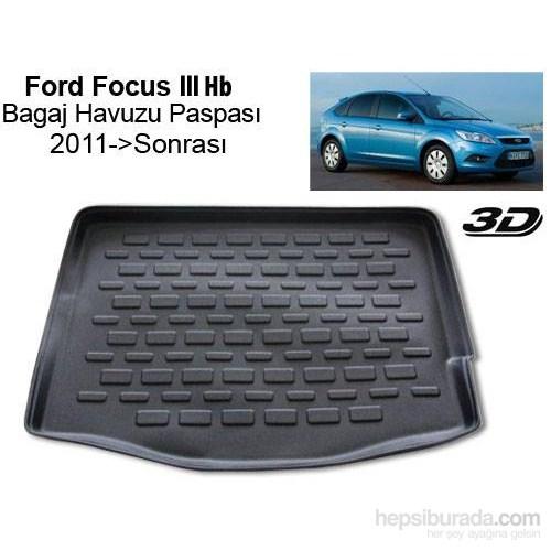 Ford Focus 3 Hb Yüksek Zemin Bagaj Havuzu 2011 Sonrası