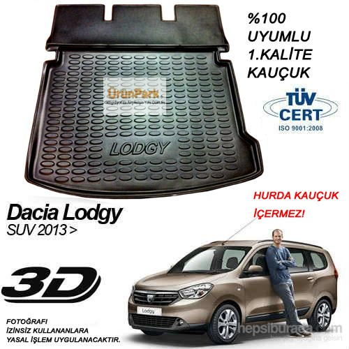 Dacia Lodgy Bagaj Havuzu Suv 2013 Sonrası