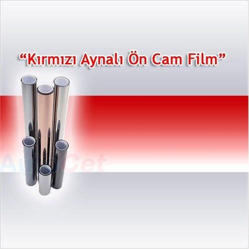 Guard Ön Cam Filmi 220 cm x 20 Cm Aynalı Kırmızı 115741