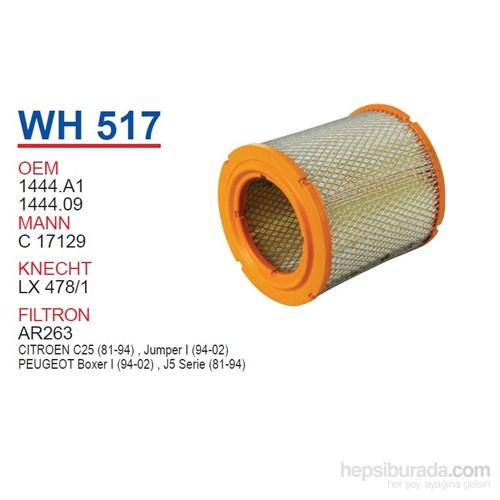 Wunder Citroen JUMPER (KISA) Hava Filtresi OEM NO:1444.A1