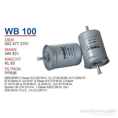 Wunder MERCEDES 124-129-163-170-202-210 KASA 111 MOTOR Benzin Filtresi OEM NO:24772701