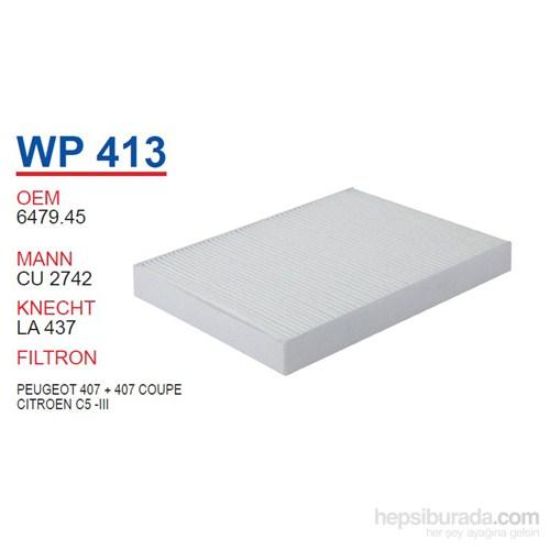 Wunder PEUGEOT 407 + 407 COUPE Polen Filtresi OEM NO:6479.45
