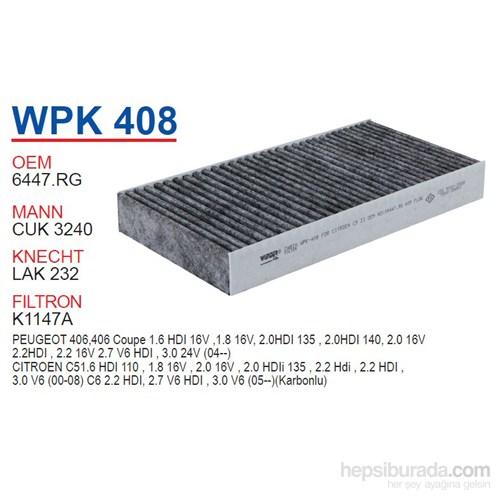 Wunder PEUGEOT 407 (KARBONLU) Polen Filtresi OEM NO:6447.RG