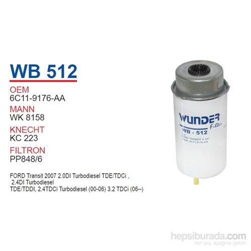Wunder FORD TRANSiT V 347 Mazot Filtresi OEM NO: 6C11-9176-AA