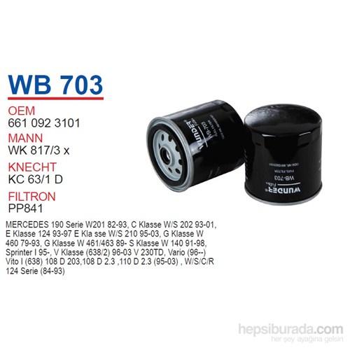 Wunder MERCEDES 124 KASA ViTO-SPRiNTER E.M 601 MOTOR Mazot Filtresi OEM NO:6610923101
