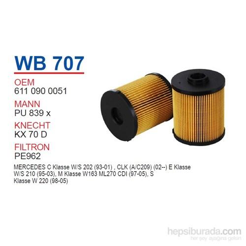 Wunder MERCEDES 202 CDI-220 CDI-ML 270 CDI 611-612 MOTOR Mazot Filtresi OEM NO:6110900051