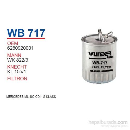 Wunder MERCEDES ML 400 CDI - S KLASS Mazot Filtresi OEM NO:6280920001