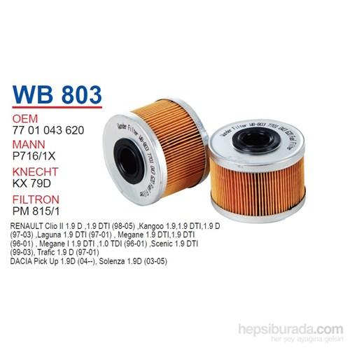 Wunder RENAULT EXPRESS (C443) - KANGOO Mazot Filtresi OEM NO: 7701043620