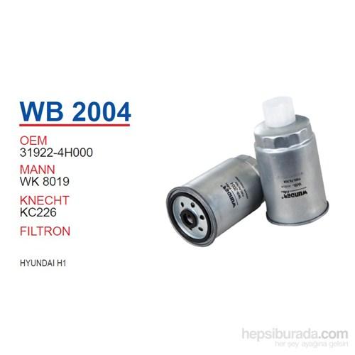 Wunder HYUNDAI H1 Mazot Filtresi OEMNO:31922-4H000