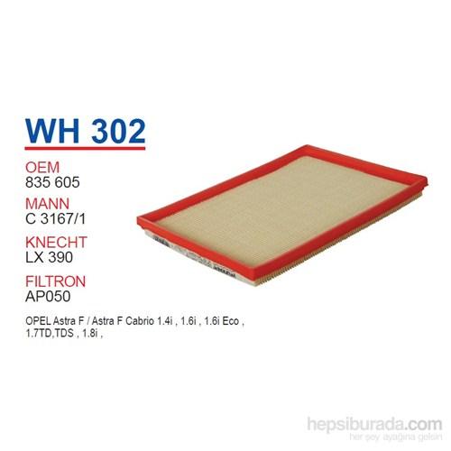 Wunder OPEL ASTRA F 1.4i, 1.6i, 1.7TD, 1.8i 91 Hava Filtresi OEM NO: 835605
