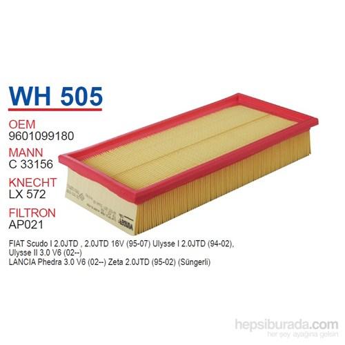 Wunder FIAT SCUDO 1.9 D Hava Filtresi OEM NO: 9601099180