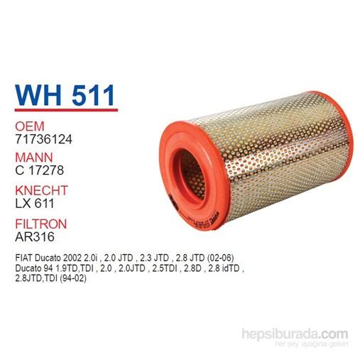 Wunder FIAT DUCATO (UZUN) Hava Filtresi OEM NO: 71736124