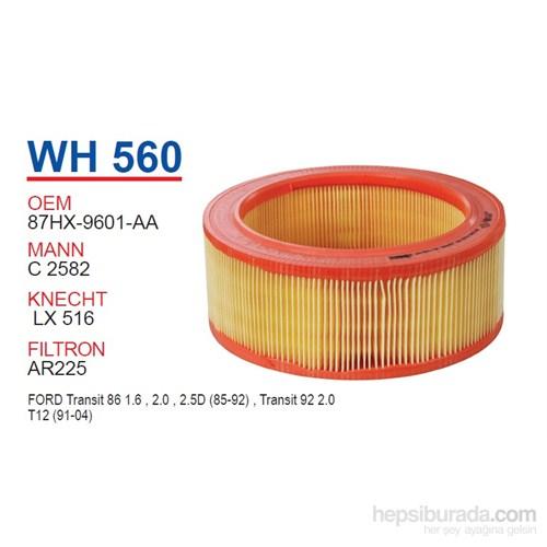 Wunder FORD TRANSiT T-12 Hava Filtresi OEM NO: 87HX-9601-AA