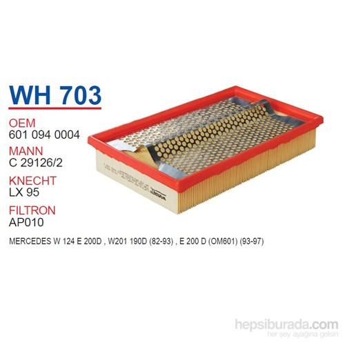 Wunder MERCEDES 124 KASA E200 D - 201 KASA 190 D Hava Filtresi OEM NO:6010940004