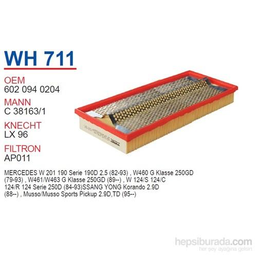 Wunder MERCEDES 201 KASA 190 D 2.5 - 124 KASA 250 D 2.5 Hava Filtresi OEM NO:6020940204