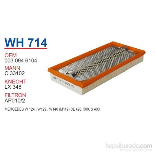 Wunder MERCEDES 140 KASA E KLASS W124 - W129 E 500 - S 500 - CL 420 Hava Filtresi OEM NO:30946104
