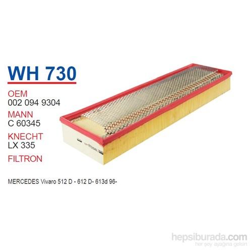 Wunder MERCEDES VİVARO 512D - 612D - 613D 96- Hava Filtresi OEM NO:20949304