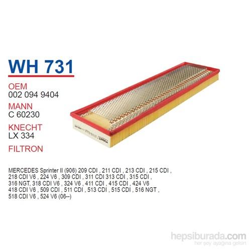 Wunder MERCEDES 507D - 609D - 809D 86-94 Hava Filtresi OEM NO:20949404