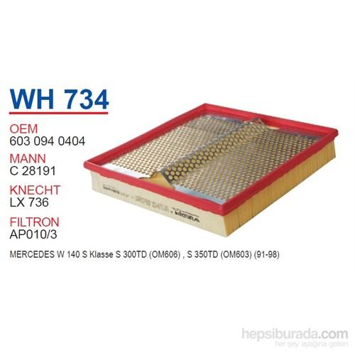 Wunder MERCEDES 140 KASA S KLASS S300 TD Hava Filtresi OEM NO:6030940404