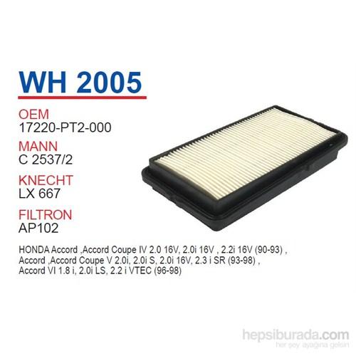 Wunder HONDA ACCORD 90-93 Hava Filtresi OEM NO:17220-PT2-000