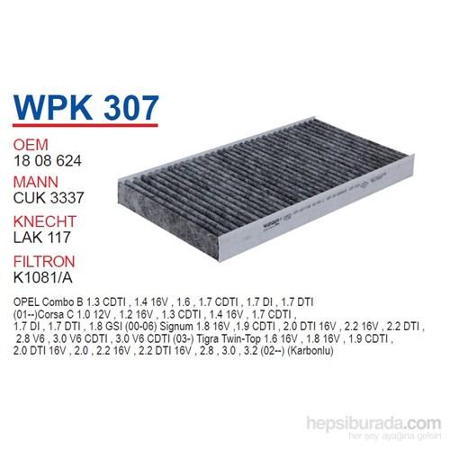 Wunder OPEL VECTRA C (KARBONLU) Polen Filtresi OEM NO: 1808624