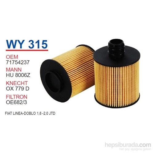 Wunder FIAT LİNEA-DOBLO 1,6 -2,0 JTD Yağ Filtresi OEM NO: 71754237