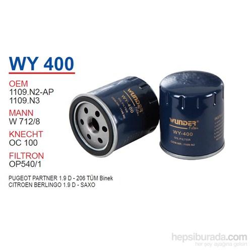 Wunder PEUGEOT PARTNER 1.9 D - 206 Yağ Filtresi OEM NO:1109.N2-AP