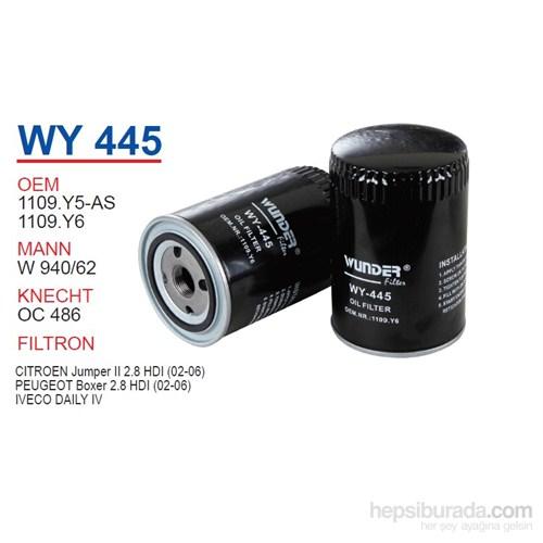 Wunder PEUGEOT BOXER 2.8 HDi 06- Y.M Yağ Filtresi OEM NO:1109.Y5-AS