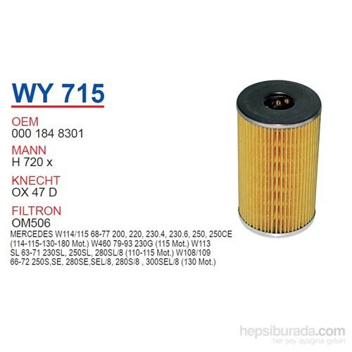 Wunder MERCEDES 115 KASA 200 - 220 - 230.4 115 MOTOR Yağ Filtresi OEM NO:1848301