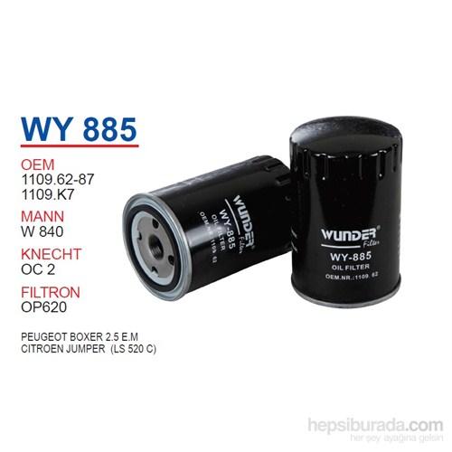 Wunder PEUGEOT BOXER 2.5 E.M Yağ Filtresi OEM NO:1109.62