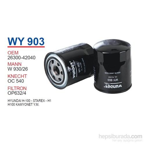 Wunder HYUNDAI H100 - STAREX - H1 Yağ Filtresi OEMNO:26300-42040