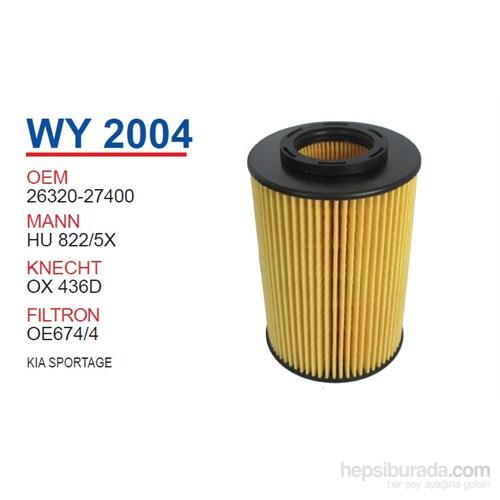 Wunder KIA SPORTAGE Yağ Filtresi OEM NO:26320-27400