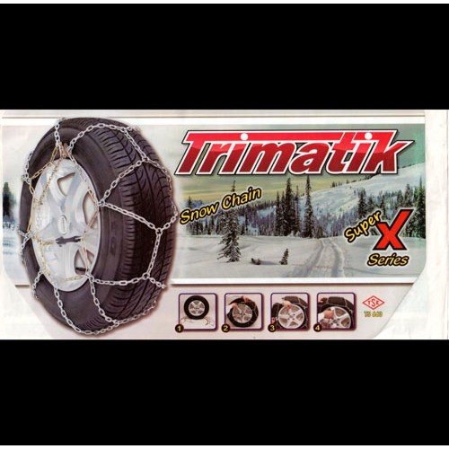 Trimatik X Model Takmatik Patinaj Zinciri TSE Belgeli Grup 40 | 112002