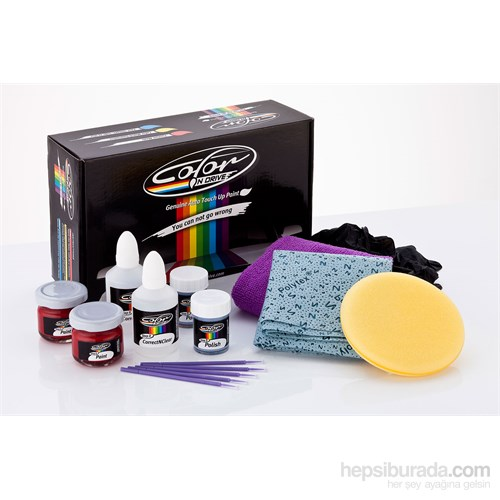 Ford Focus [Renk Kod: Hardal Sari - BHPEWWA] - Color N Drive Taş İzi ve Çizik Rötüş Sistemi