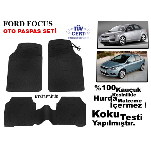 Automix Automix Ford Focus Oto Paspas Seti Siyah
