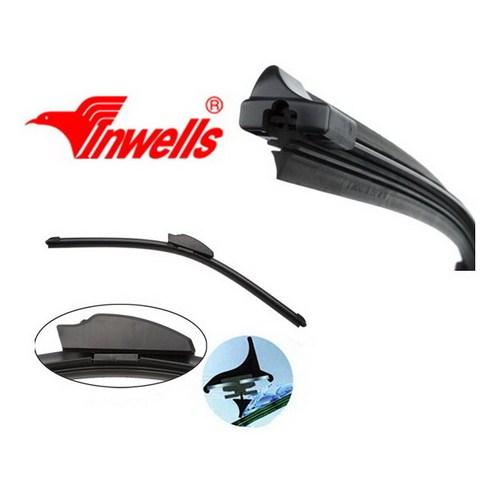 Inwells Araca Özel 6 Aparatlı Muz Tipi Yeni Nesil Silecek 450 mm. 20074