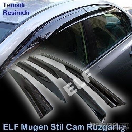 Elf Renault Clio 4 STW Mugen Cam Rüzgarlığı 2013 sonrası