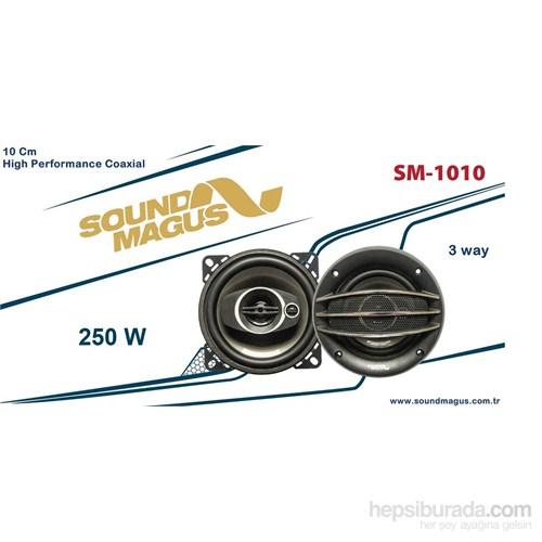 Sm-1010 10 Cm 3 Yollu 250 Watt Coaxial Hoparlör