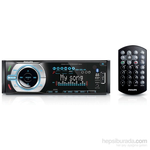 Philips Cem 5000 Bluetooth, USB/SD/CD/Mp3/Animasyonlu Ekran