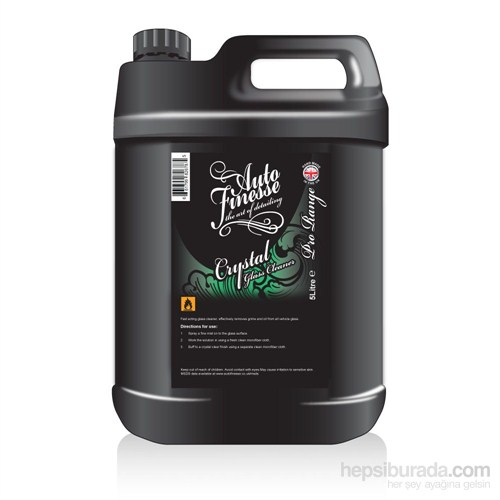 Auto Finesse Crystal Glass Cleaner - Cam Temizleyici 5 L