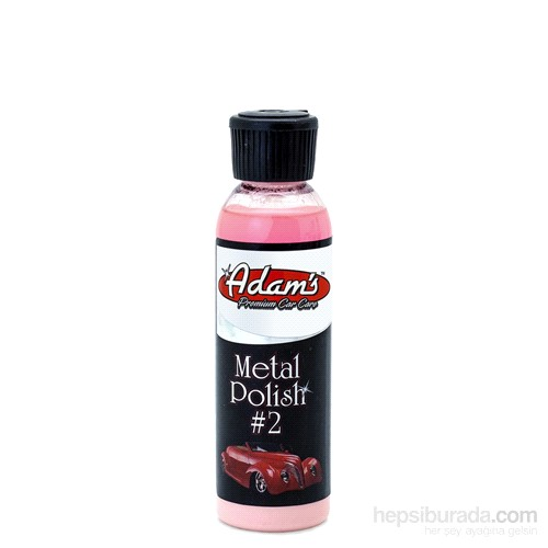 Adam's Polishes Metal Polish #2 Metal Parlatıcı 473 ml