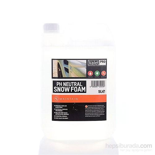 Valet Pro pH neutral Snow Foam - Konsantre Ph Nötr Yıkama Köpüğü 5 L