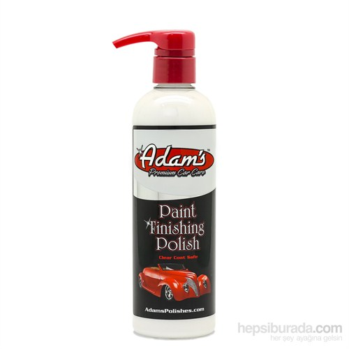 Adam's Polishes Paint Finishing - Parlatıcı Polisaj Pastası 473 ml
