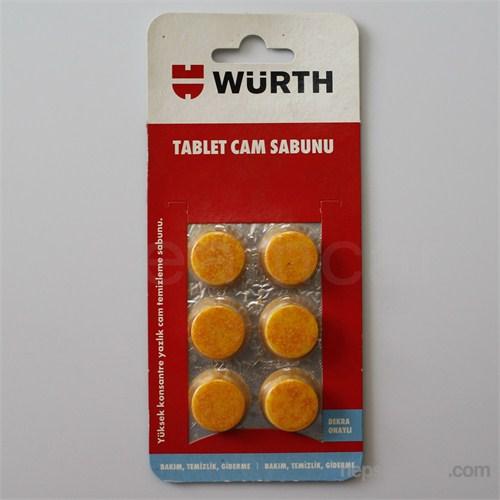 Würth 6 Tablet Cam Temizleme Sabunu