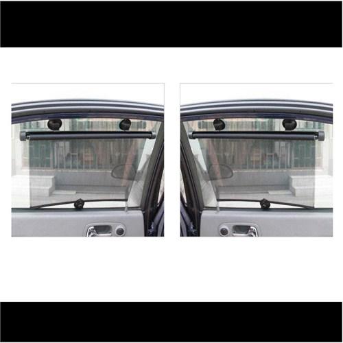 CarSpeed 2Li Yan Cam Perdesi Makaralı 2x45 cm Universal (115832)