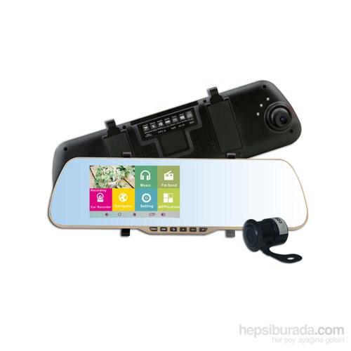 Cyclone BH300 Android ve Navigasyon Özellik. Dikiz Aynası