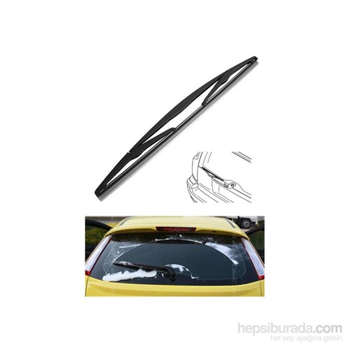 Silbak Honda Cr-V 1 01.2099 - 02.2002 Arası Arka Cam Sileceği 103724