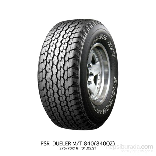 Bridgestone 265/65R17 112H H/T840 Oto Lastik